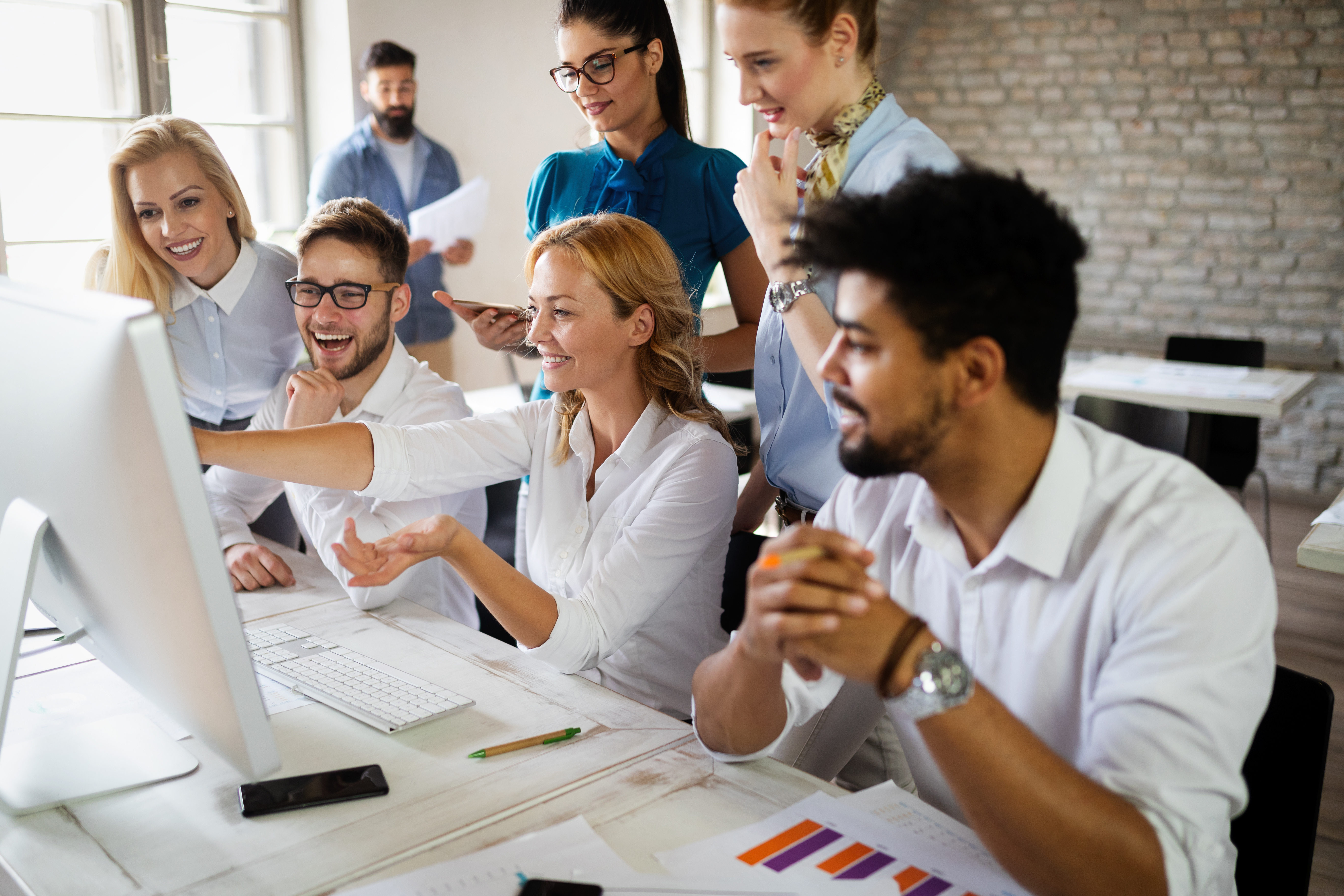 Startup Diversity Teamwork Brainstorming Business Meeting Concept